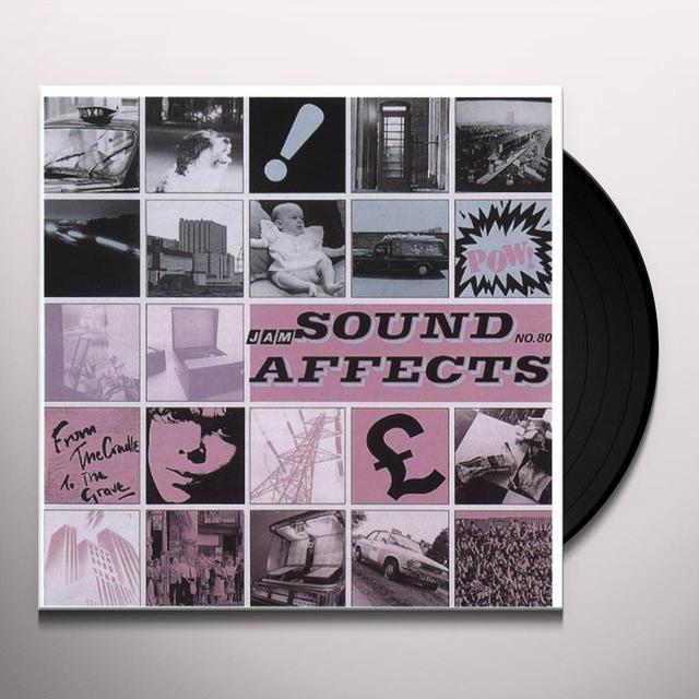 The Jam SOUND AFFECTS (HK) Vinyl Record