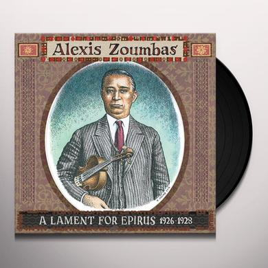 Alexis Zoumbas LAMENT FOR EPIRUS 1926-28 Vinyl Record