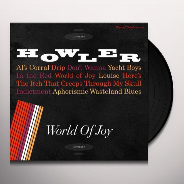 Howler WORLD OF JOY Vinyl Record - Digital Download Included