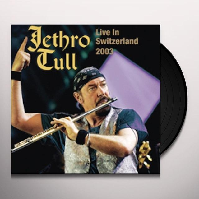 Jethro Tull LIVE IN SWITZERLAND 2003 Vinyl Record - UK Import