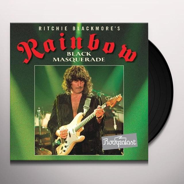 Rainbow ROCKPLAST 1995-BLACK MASQUARADE Vinyl Record - UK Import
