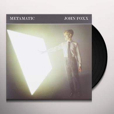 John Foxx METAMATIC GATEFOLD EDITION Vinyl Record - UK Import