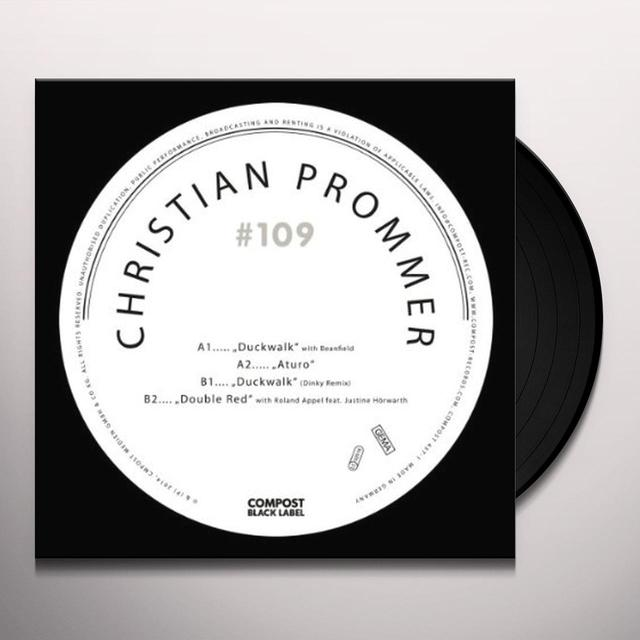 Christian Prommer COMPOST BLACK LABEL 109 (EP) Vinyl Record