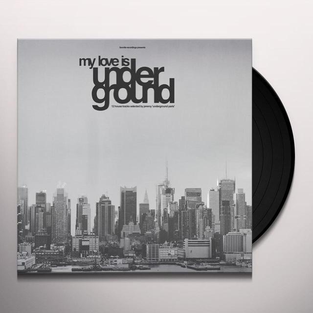 MY LOVE IS UNDERGROUND / VARIOUS Vinyl Record