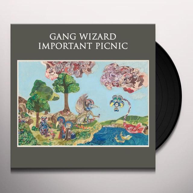 Gang Wizard IMPORTANT PICNIC Vinyl Record