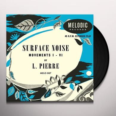 L. Pierre SURFACE NOISE Vinyl Record - 10 Inch Single, Digital Download Included