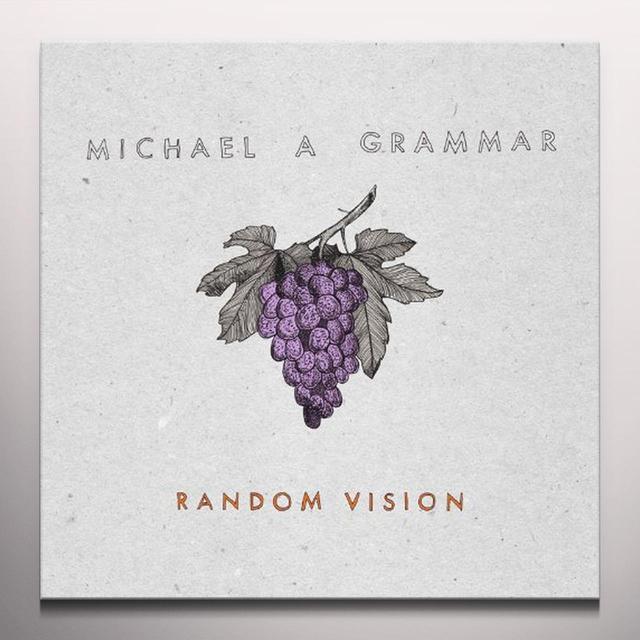 Michael A Grammar RANDOM VISION Vinyl Record