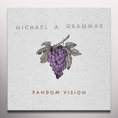 Michael A Grammar RANDOM VISION Vinyl Record - Colored Vinyl, 180 Gram Pressing, Digital Download Included