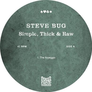Steve Bug SIMPLE THICK & RAW Vinyl Record