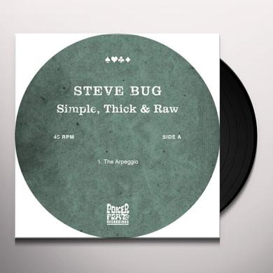 Steve Bug SIMPLE THICK & RAW (EP) Vinyl Record