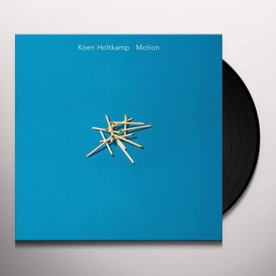Koen Holtkamp MOTION Vinyl Record - Digital Download Included