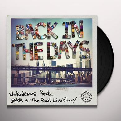 Nickodemus BACK IN THE DAYS Vinyl Record