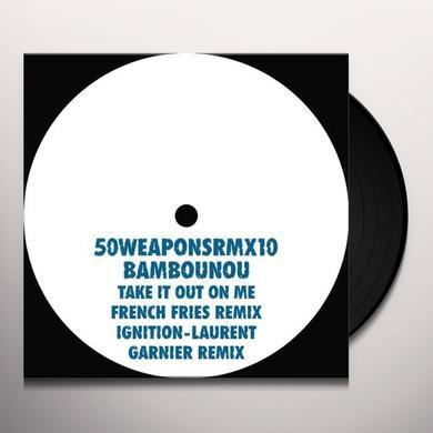 Bambounou TAKE IT ON ME (FRENCH FRIES RMX) Vinyl Record