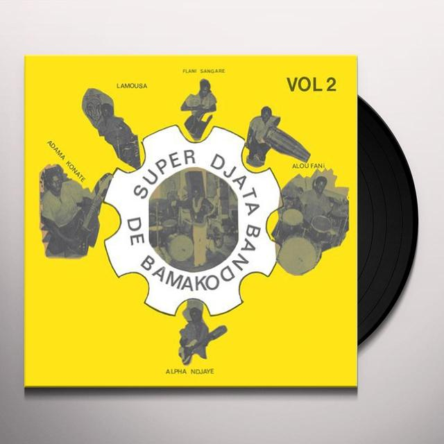 Super Djata Band De Bamako YELLOW 2 Vinyl Record