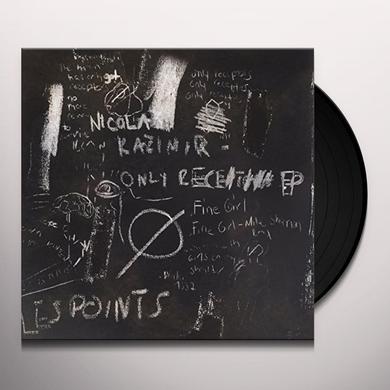 Nicola Kazimir ONLY RECEPTORS Vinyl Record