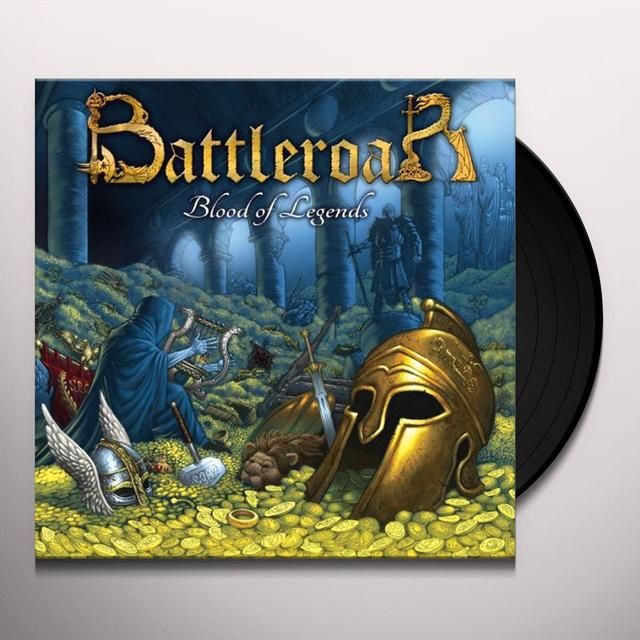 BATTLEROAR-BLOOD OF LEGENDS Vinyl Record