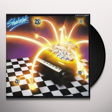 Shakatak LIVE IN JAPAN Vinyl Record