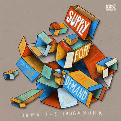 Damu The Fudgemunk SUPPLY FOR DEMAND Vinyl Record