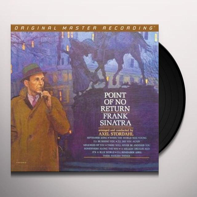 Frank Sinatra POINT OF NO RETURN Vinyl Record - Limited Edition, 180 Gram Pressing
