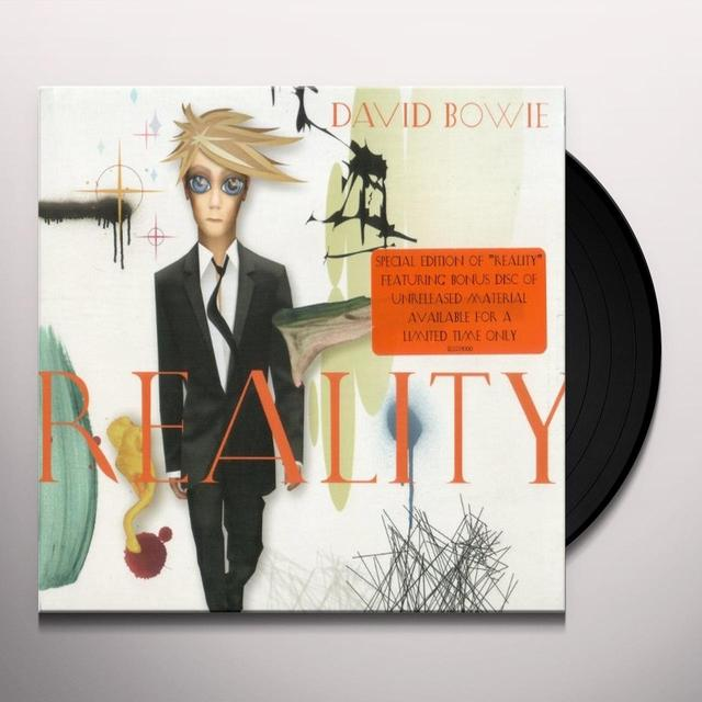 David Bowie REALITY Vinyl Record - Limited Edition, 180 Gram Pressing