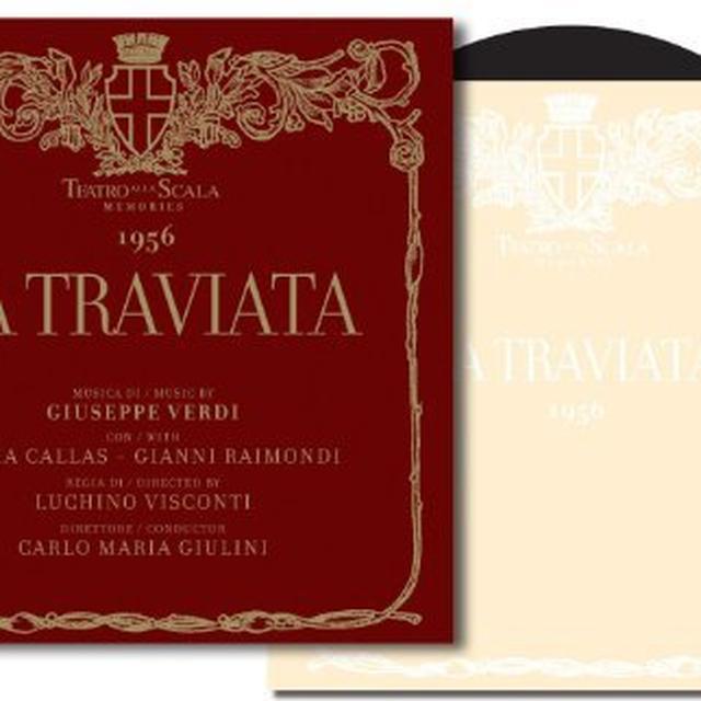 Verdi / Giulini / Callas / Raimondi TRAVIATA Vinyl Record