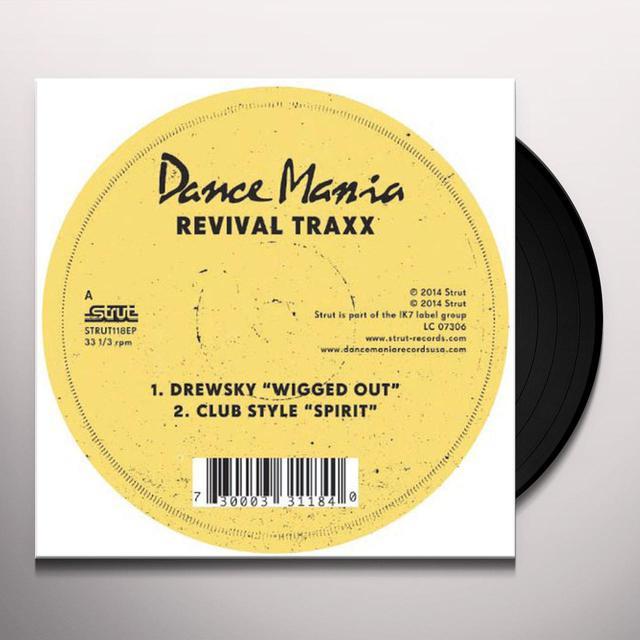 DANCE MANIA: REVIVAL TRAXX / VARIOUS Vinyl Record