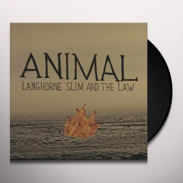 Langhorne Slim & The Law ANIMAL Vinyl Record