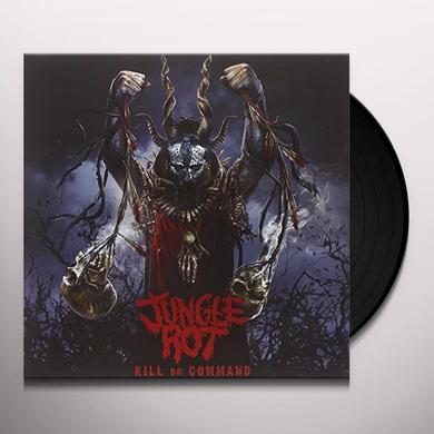 Jungle Rot KILL ON COMMAND Vinyl Record