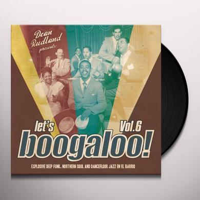 LET'S BOOGALOO: EXPLOSIVE DEEP FUNK 6 Vinyl Record