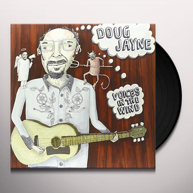 Doug Jayne VOICES IN THE WIND LP Vinyl Record