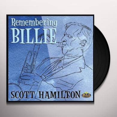 Scott Hamilton REMEMBERING BILLIE Vinyl Record
