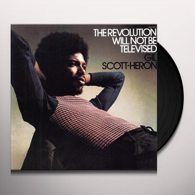 Gil Scott-Heron REVOLUTION WILL NOT BE TELEVISED Vinyl Record - Gatefold Sleeve