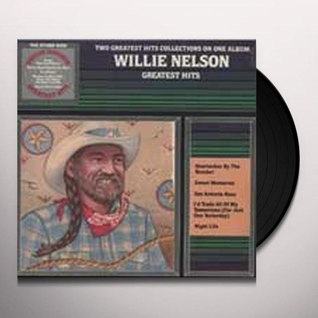Willie Nelson / Waylon Jennings GREATEST HITS Vinyl Record