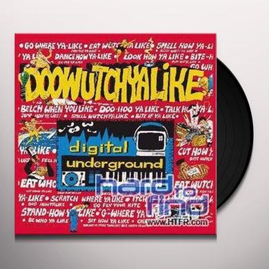 Digital Underground DOWHATCHALIKE REMIX +2 Vinyl Record