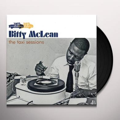 Bitty Mclean TAXI SESSIONS Vinyl Record