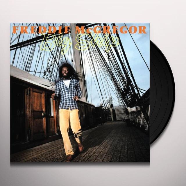 Freddie Mcgregor BIG SHIP Vinyl Record