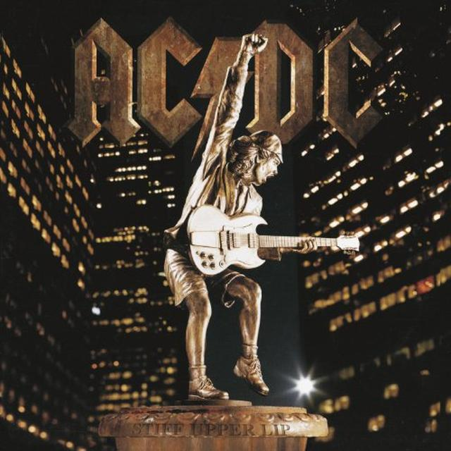 AC/DC STIFF UPPER LIP Vinyl Record