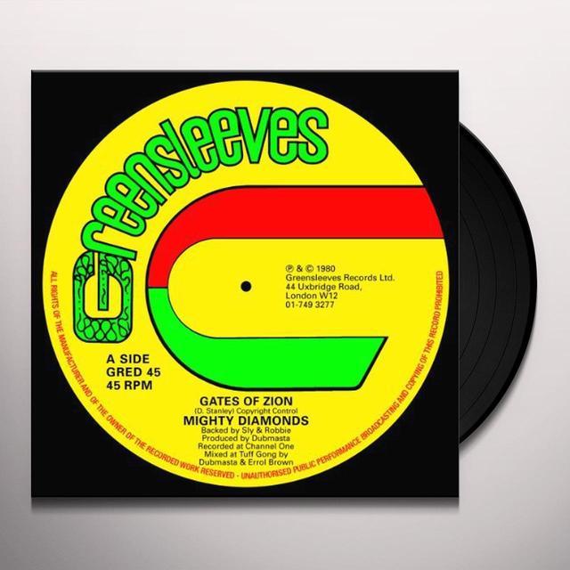 Mighty Diamonds GATES OF ZION Vinyl Record