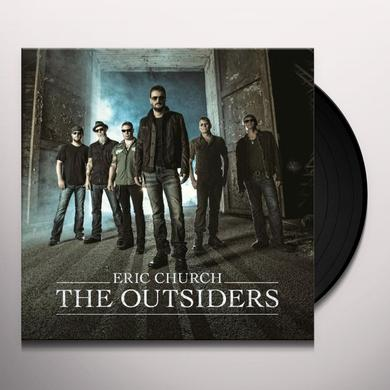 Eric Church OUTSIDERS Vinyl Record