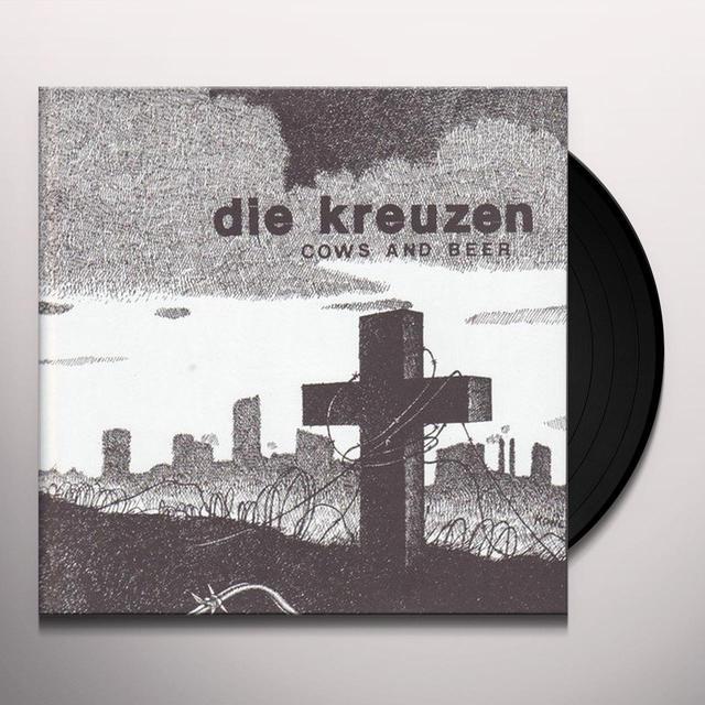 Die Kreuzen COWS AND BEER Vinyl Record