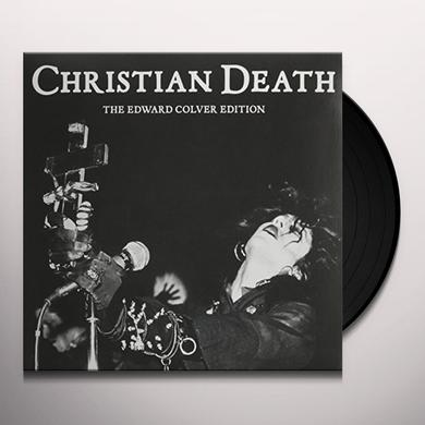 Christian Death EDWARD COLVER EDITION Vinyl Record