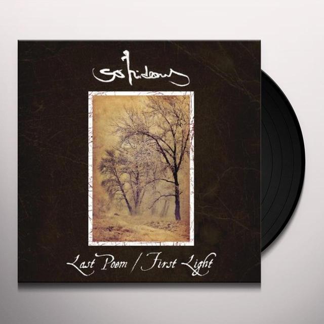 So Hideous LAST POEM / FIRST LIGHT Vinyl Record