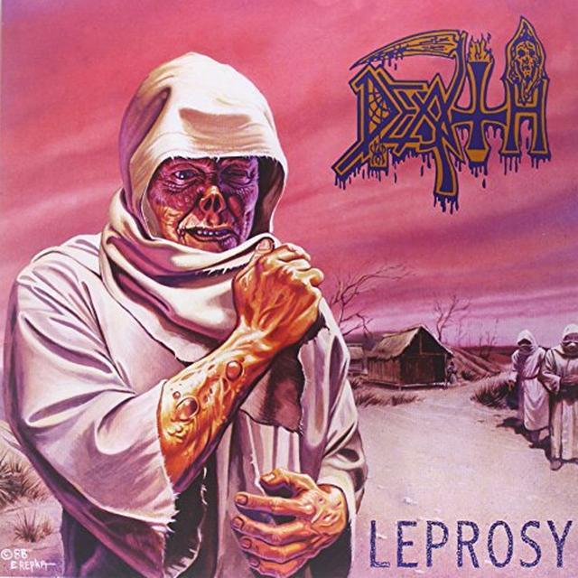 Death LEPROSY Vinyl Record