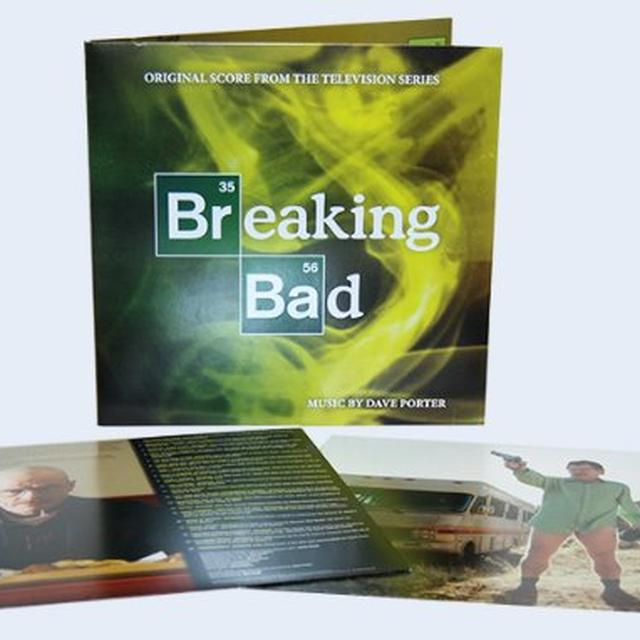 Dave Porter BREAKING BAD (ORIGINAL SCORE) Vinyl Record
