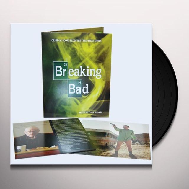 Dave Porter BREAKING BAD (ORIGINAL SCORE) Vinyl Record