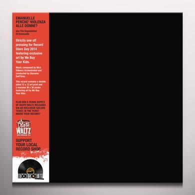 Nico / Violation Of Fidenco VIOLATION OF EMANUELLE Vinyl Record - Limited Edition, Colored Vinyl