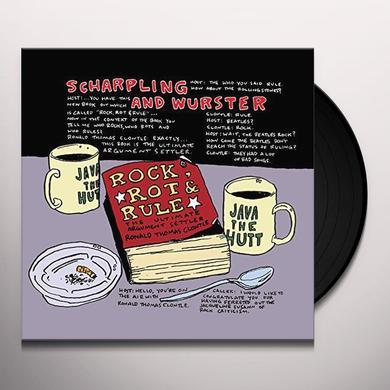 Sharpling & Wurster / Rock ROCK ROT & RULE Vinyl Record - Black Vinyl, Limited Edition