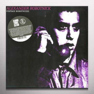 Alexander / Vintage Robotnick VINTAGE ROBOTNICKS Vinyl Record - Colored Vinyl, Limited Edition, 180 Gram Pressing
