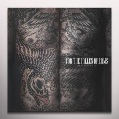 For The Fallen Dreams HEAVY HEARTS (BONUS CD) Vinyl Record - Colored Vinyl