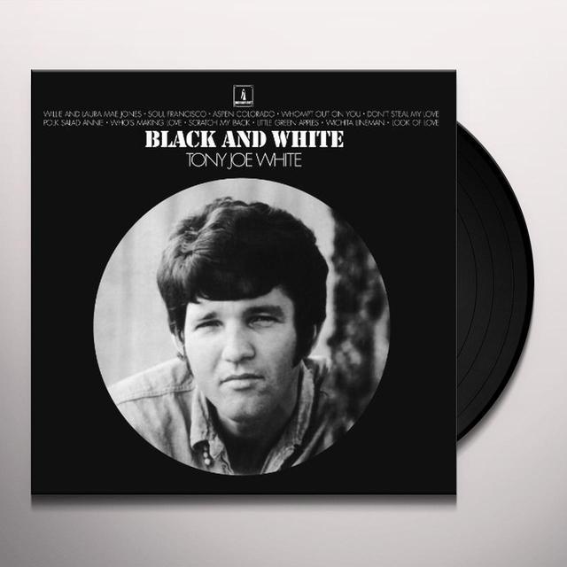 Tony Joe White BLACK & WHITE (GER) Vinyl Record